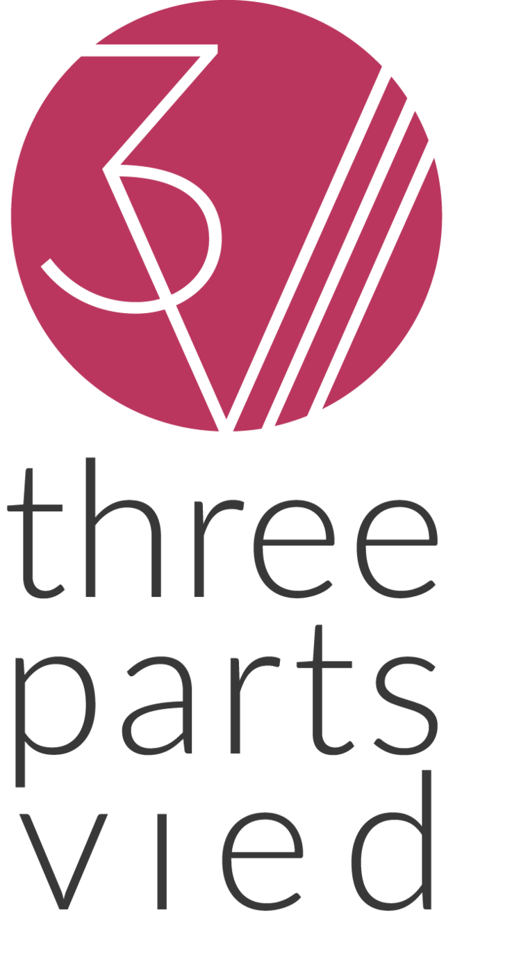three parts vied