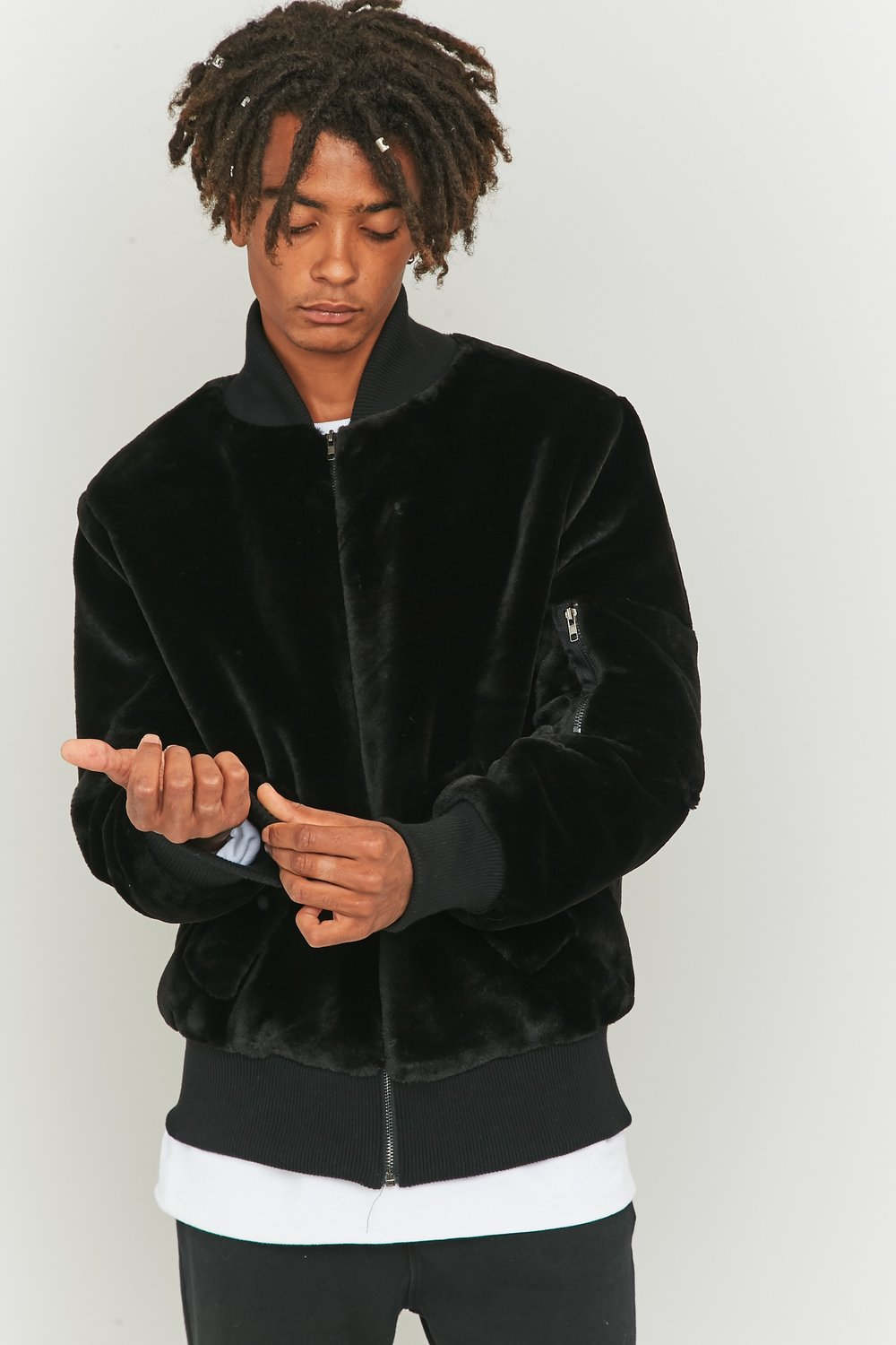 5232449250110  UOX BLACK FAUX BOMBER   EU    BLK  NOIR     EU    Black  001  buyers  in stock  TNC_603077.jpg