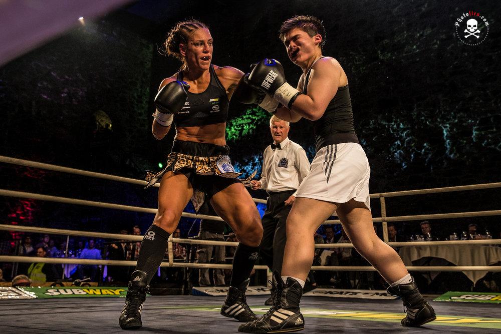 Eva Wahlstrom vs. Djemilla Gontaruk