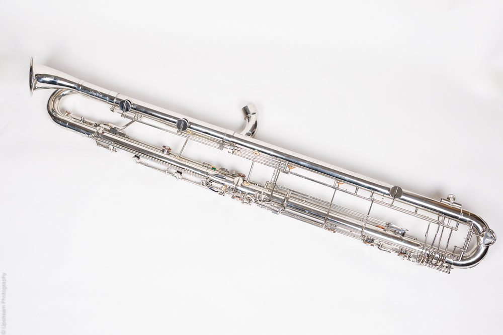 "Leblanc ""Paperclip"" Contrabass Clarinet to low C - now available to hire...."