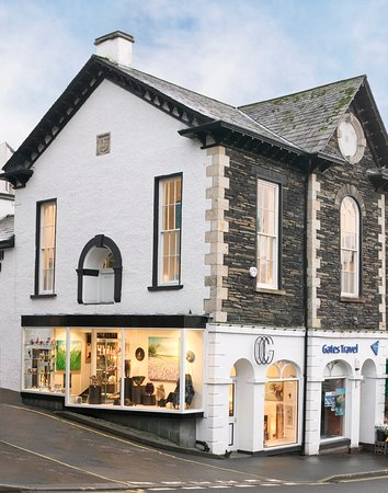 The Old Courthouse Gallery, Ambleside, Lake District.