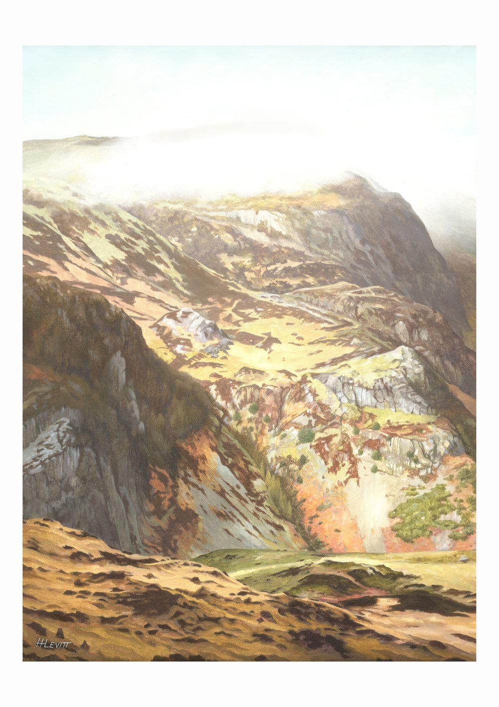 After the Rain. Rosthwaite, Cumbria