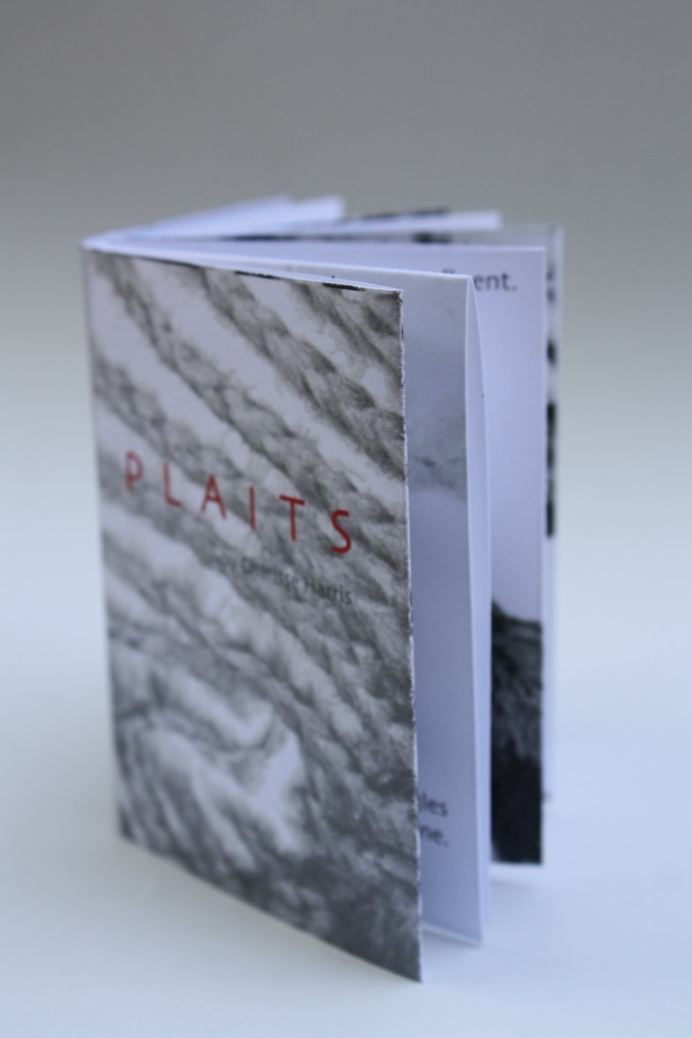 "Miniature Book entitled ""Plaits"""