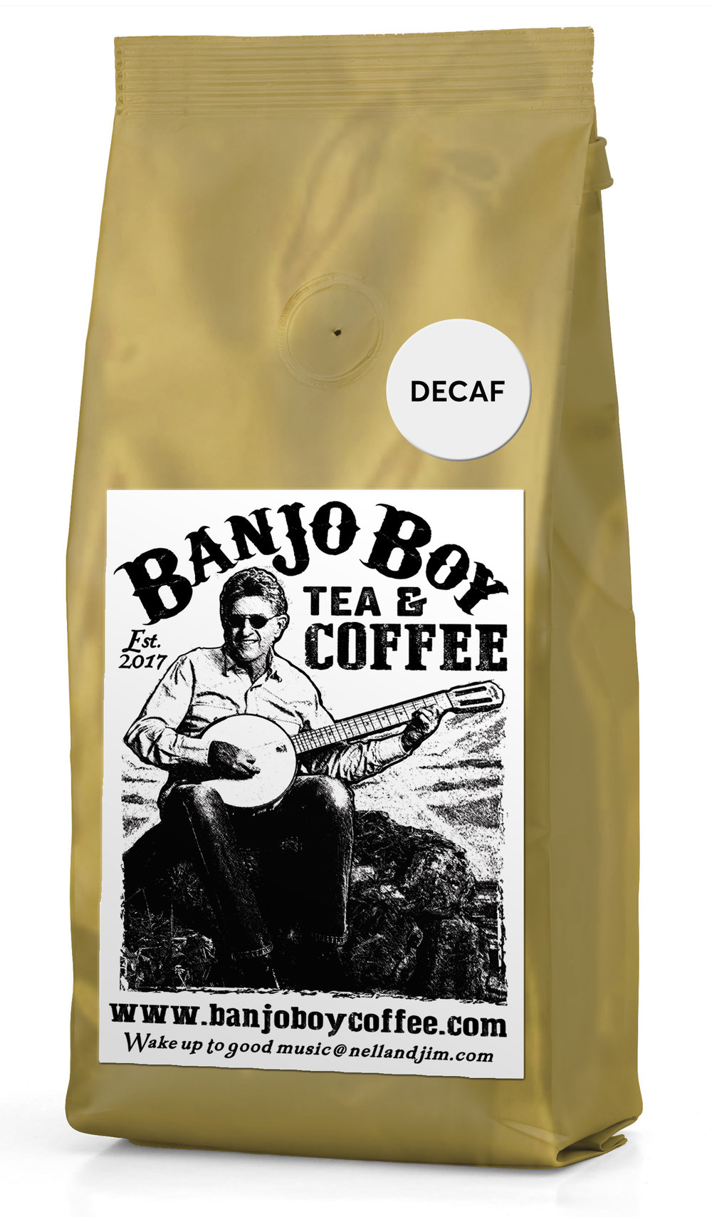 Decaf Blend - All of the same great quality and flavor but without the buzz!