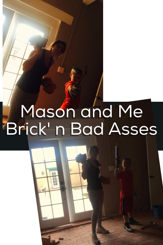 My Brick'n Partner- love this kid!