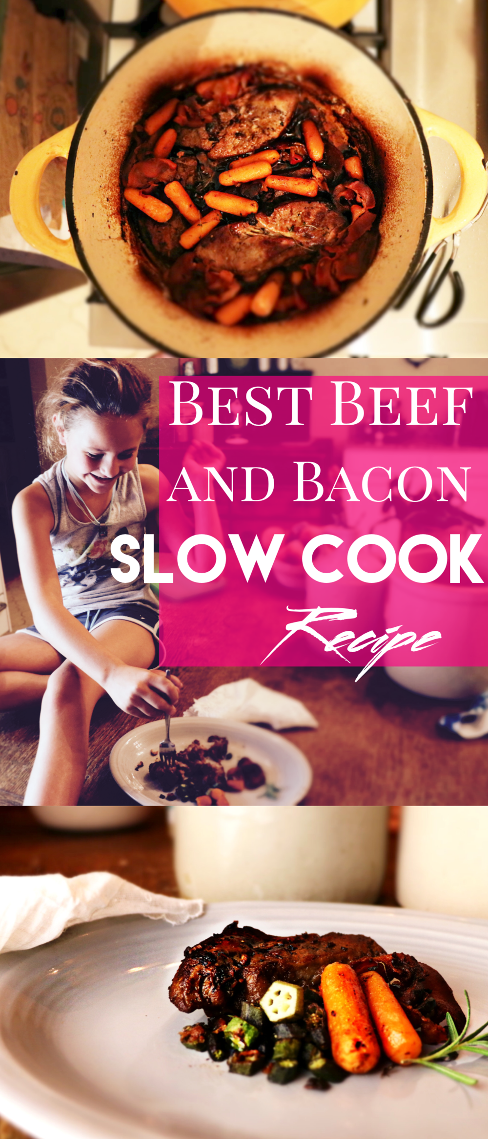 Beef and Bacon Slow Cook