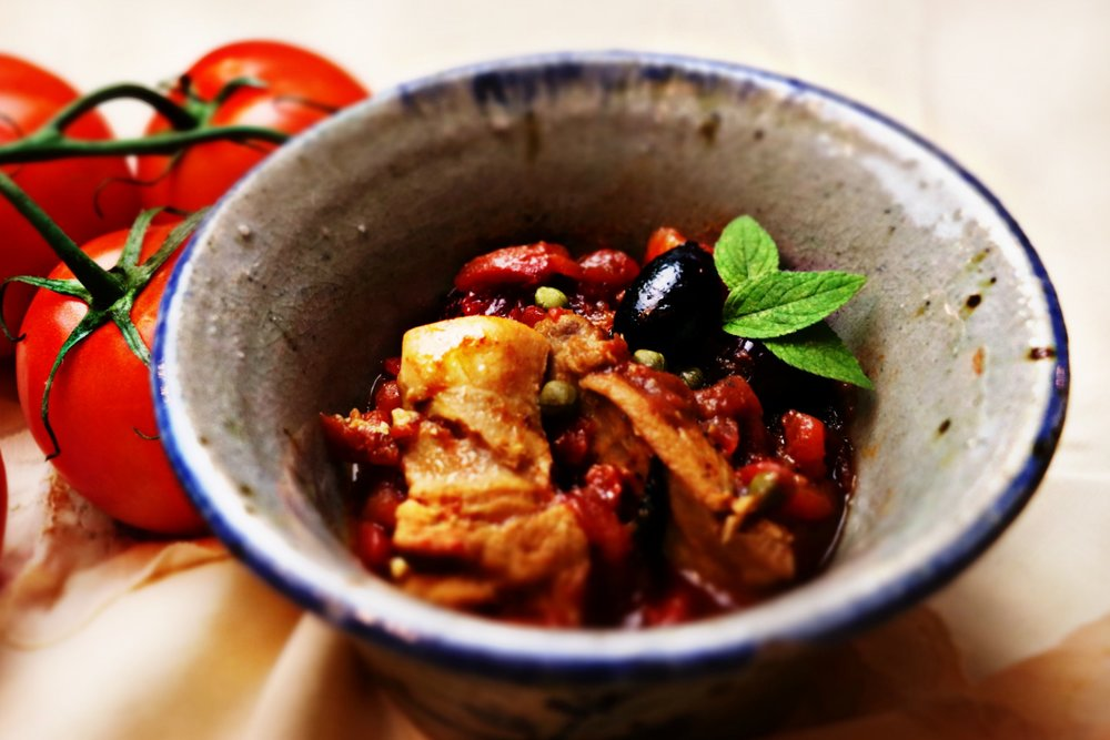 Hearty Chicken and Tomatoes