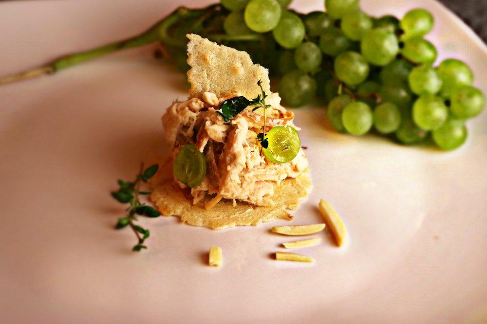 Sweet Green Grape Chicken Salad