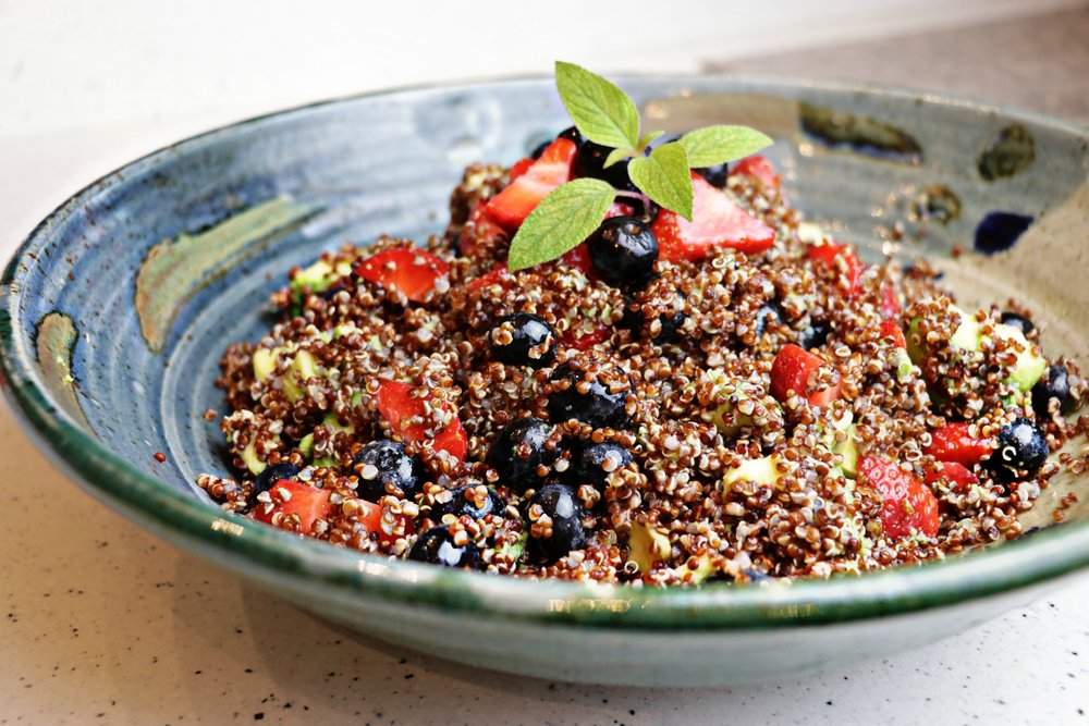 Recipes articles total beauty wellness with shelby red green and blue quinoa salad forumfinder Choice Image