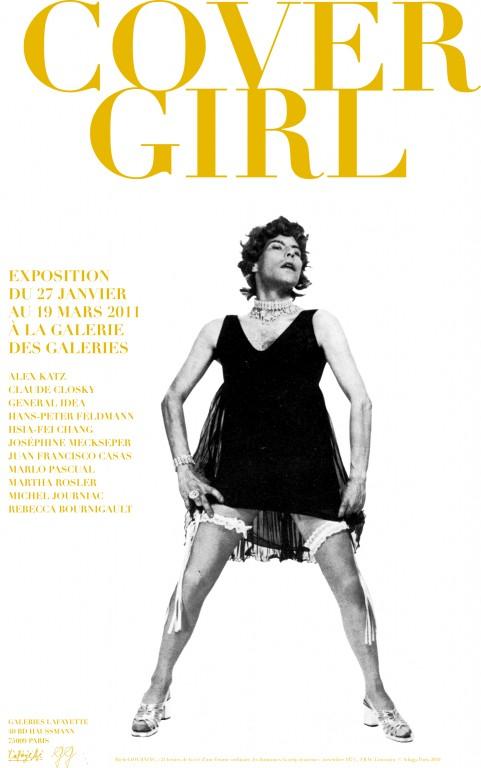 COVER GIRL    Exposition collective à La  Galerie des Galeries   Lafayette    Janvier - Mars 2011