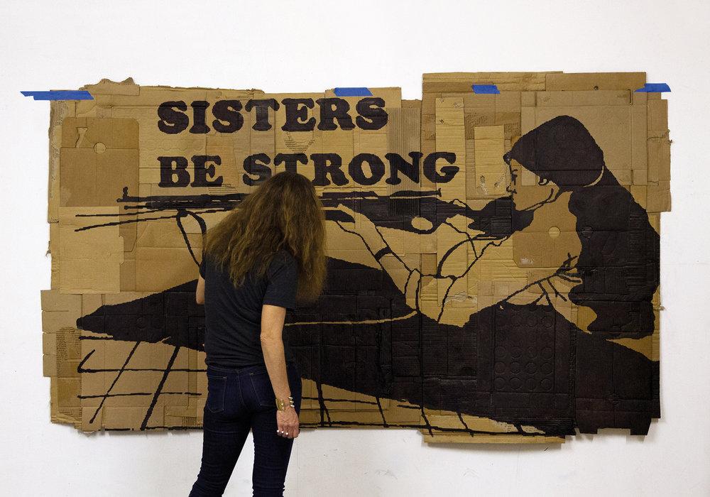 EIGHT DAYS IN L.A .   Installation avec  Florian Viel  à la Galerie Patricia Dorfmann   Septembre 2013