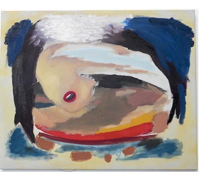 """GOD ONLY KNOWS (TROPICOOL THÉORIES) J - 4 !  A group show by  The Tropicool Company  Chez TORRI 7, rue Claude 75003 Vernissage jeudi 14 décembre 2017  à partir de 18h00  www.thetropicoolcompany.com  FROM NOWHERE WITH LOVE... """"Portrait - Paysage"""", 2015 Painting by We Are The Painters ( Nicolas Beaumelle & Aurelien Porte) We Are The Painters est un duo formé par Nicolas Beaumelle et Aurélien Porte. La production des artistes fonctionne depuis maintenant une dizaine d'années et se caractérise par le fait qu'ils gardent jalousement leur secret de fabrication : on ignore qui fait quoi. C'est en quelque sorte comme si une tierce personne était à l'origine de la création. Pour eux, cette spécificité est naturelle et constitutive depuis le début de leur pratique collective. Il y a donc deux individus travaillant ensemble qui, d'une part, ne procèdent pas à un inventaire comptable de leurs idées respectives et, d'autre part, créent très tôt des alter ego dans une mythologie personnelle qui expérimente les potentialités de la peinture. A tel point que ces personnages se mettent en scène notamment dans la série de vidéos Paint for... initiée dès 2007 dans des paysages en extérieur. Au fil des années, We Are The Painters a créé une multitude de paysages, de personnages et fédéré autour de son activité une communauté artistique fidèle et productive. #wearethepainters  #thetropicoolcompany  #tropicool #godonlyknows  #groupshow  #torrigalerie  #love  #flyingkiss"""