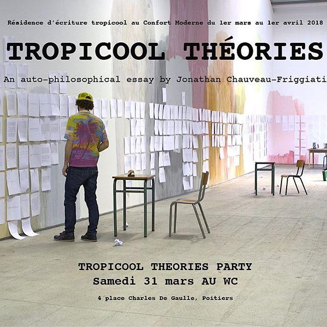 #tropicooltheories #tropicoolcompany #jonathanchauveaufriggiati  @confortmoderne