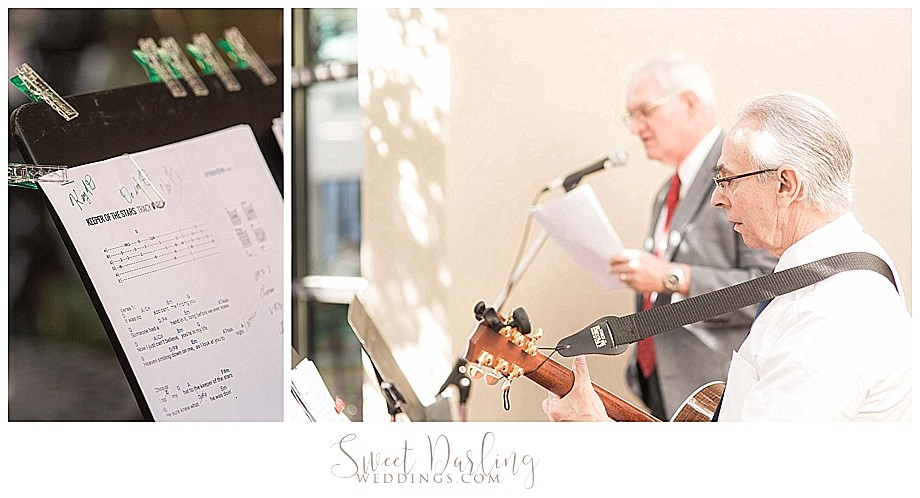 Bloomington wedding ceremony at Double Tree hotel
