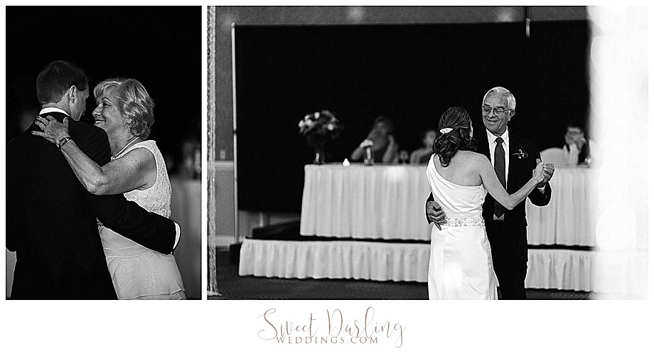 Wedding first dance at Bloomington double tree hotel