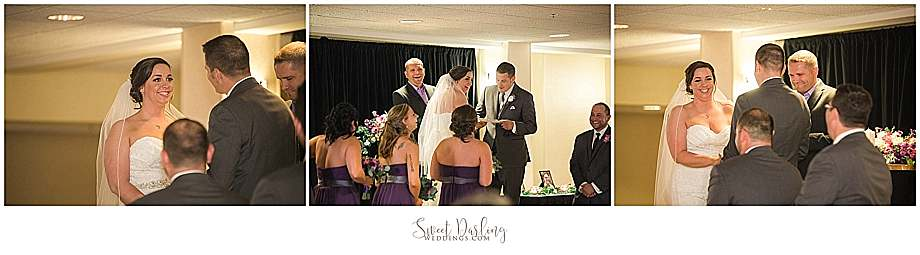 Hilton Garden Inn wedding ceremony