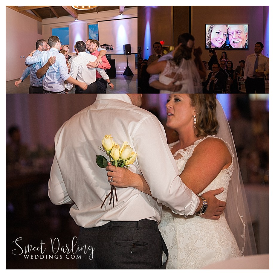 brides first dance without dad who recently died