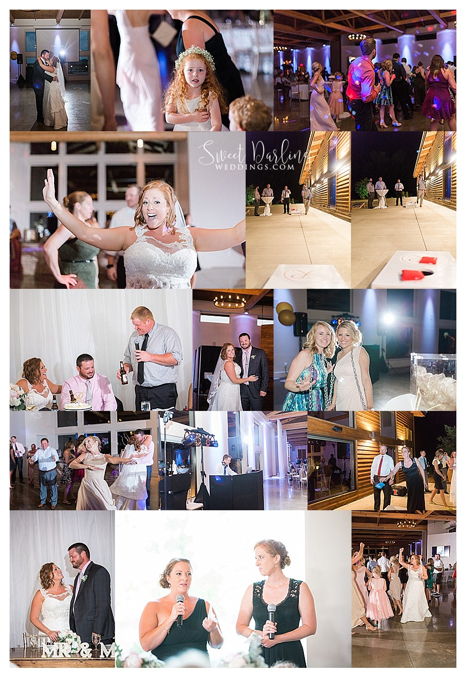 Dancing at Pear Tree wedding reception