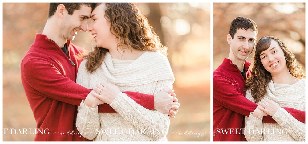 Golden hour engagement session Champaign, Illinois