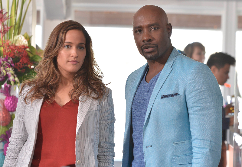 Rosie (Chestnut) and Villa (Ortiz) are the ultimate partners. On the case or not, this pairing heats up more than Miami streets with their chemistry.
