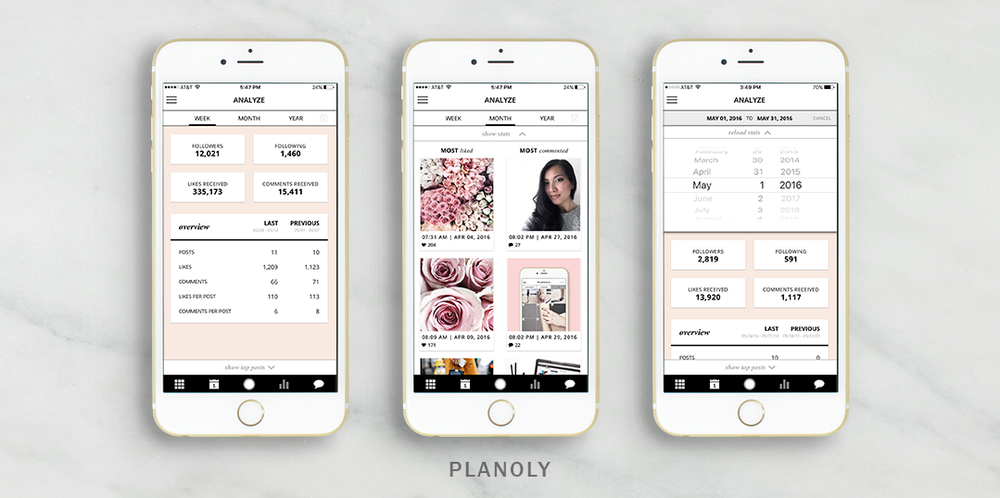 Planoly puts the Insta back into Instagram with quick & easy curating app.