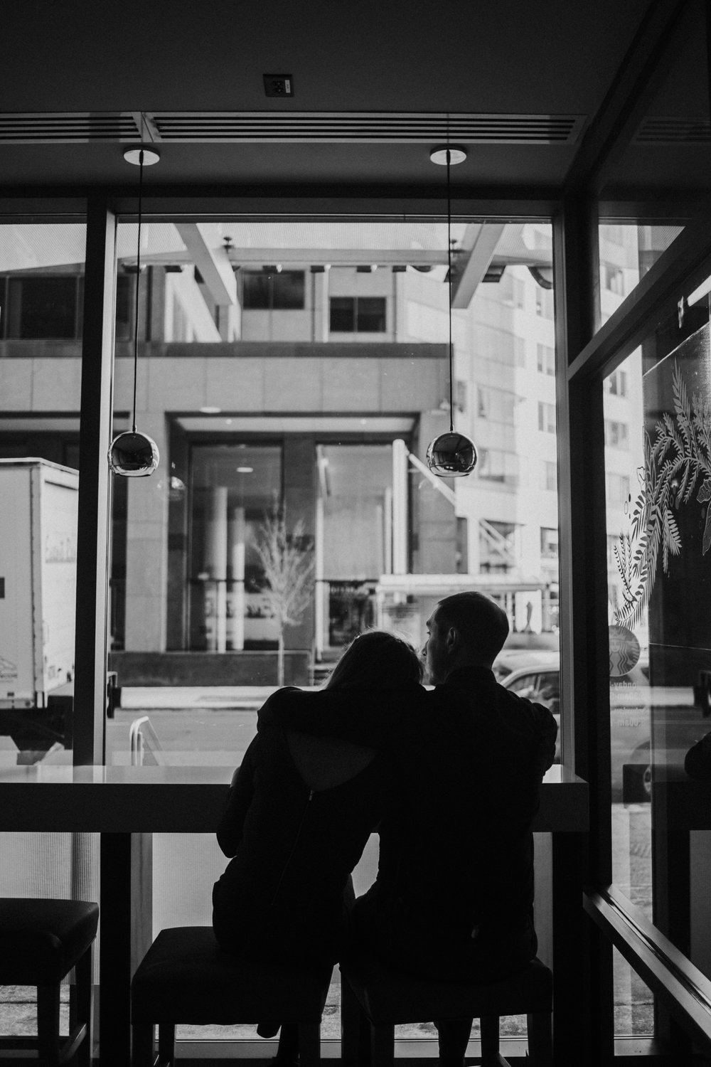 Intimate Downtown Denver Engagement Session