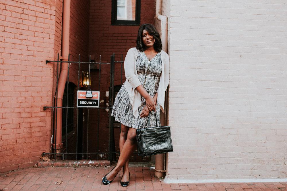 Charmant Style A-Line Dress