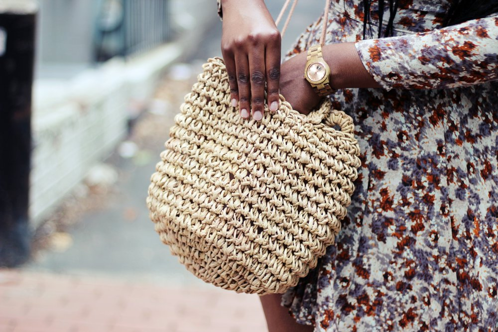 Charmant Style Straw Bag