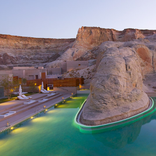 Amangiri Hotel in Utah