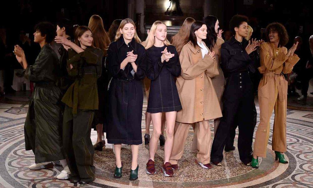 Stella McCartney debutes animal-friendly fabrics during Parish Fashion Week