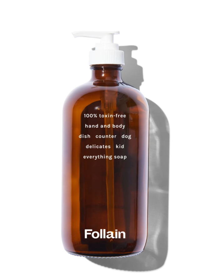 Best Vegan Soap: Refillable Hand + Body Soap by Follain