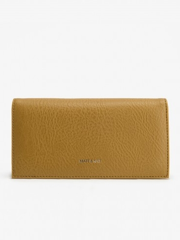 Best Vegan Leather Wallet: Reid Pomelo by Matt & Nat