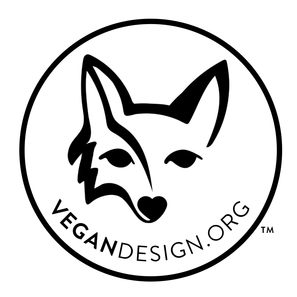 The VeganDesign.org trademark is a globally recognized symbol.