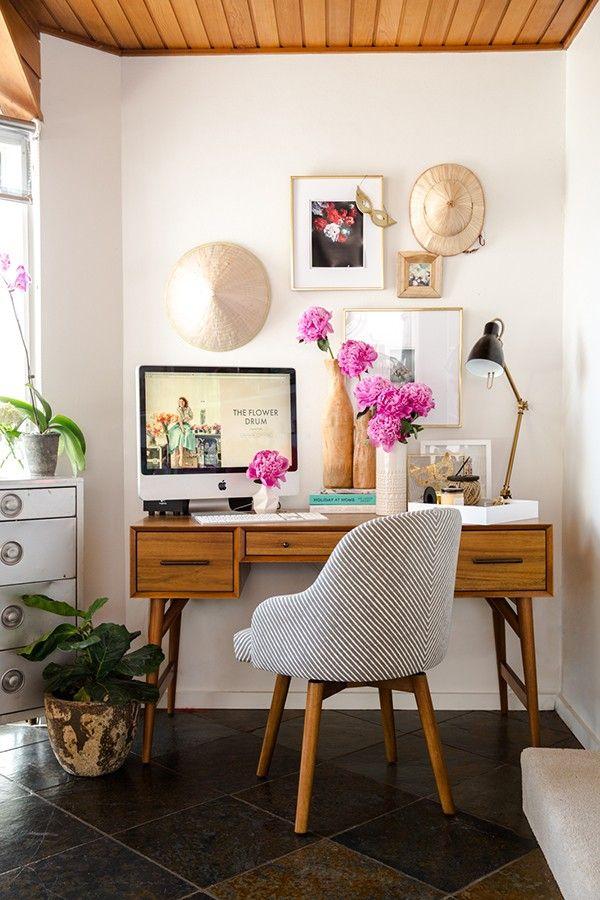 Get The (Vegan) Look: Unique Home Office