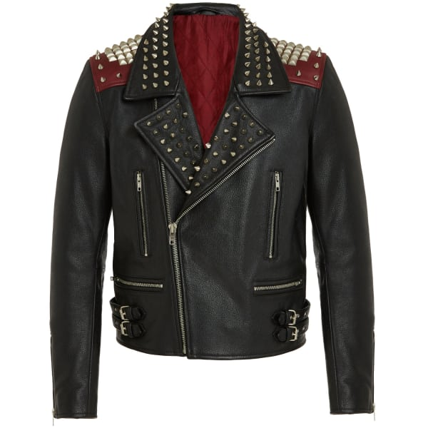 Leather Biker Jacket - £399
