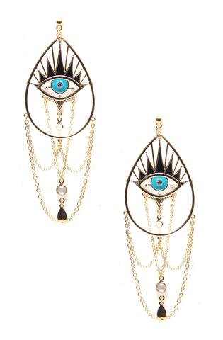 Divine Eye Earrings $65