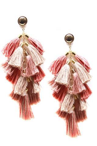 Tassel Earrings $50