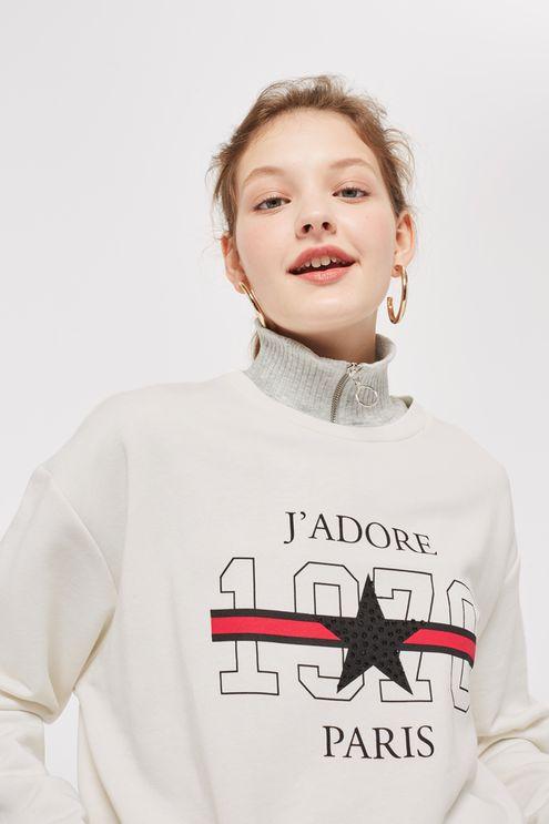 Sweatshirt by Topshop - £26