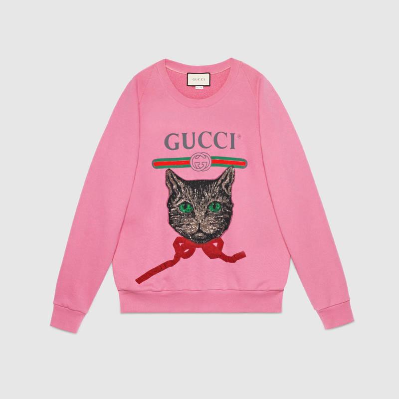 Sweatshirt by Gucci - £950
