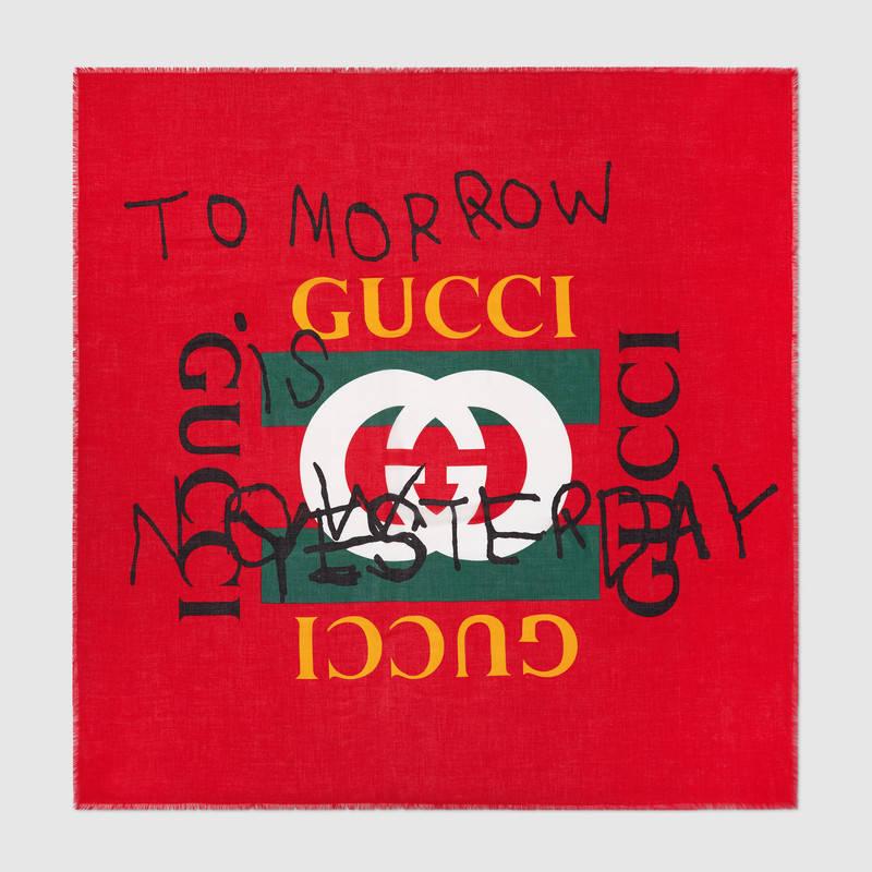 Shawl by Gucci - £270
