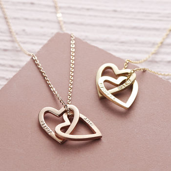 Hearts Necklace - £129