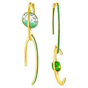 Swarovski-Land-Of-Hope-Pierced-Earrings-Green-Gold-plating-5371229-W180.jpg