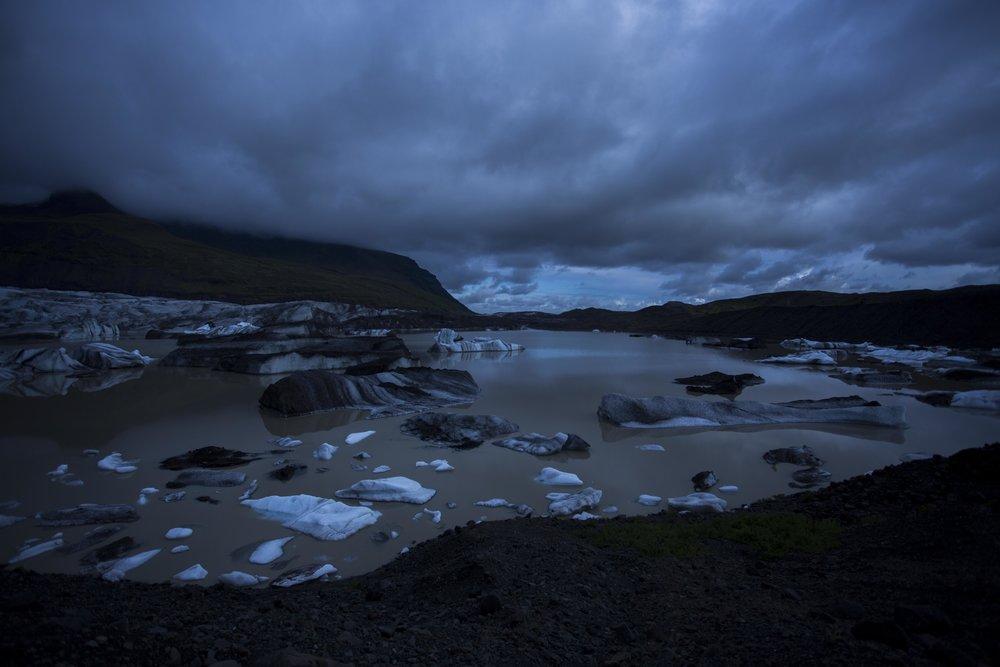 Johnny Abbate, Svínafellsjökull, Iceland, 2015
