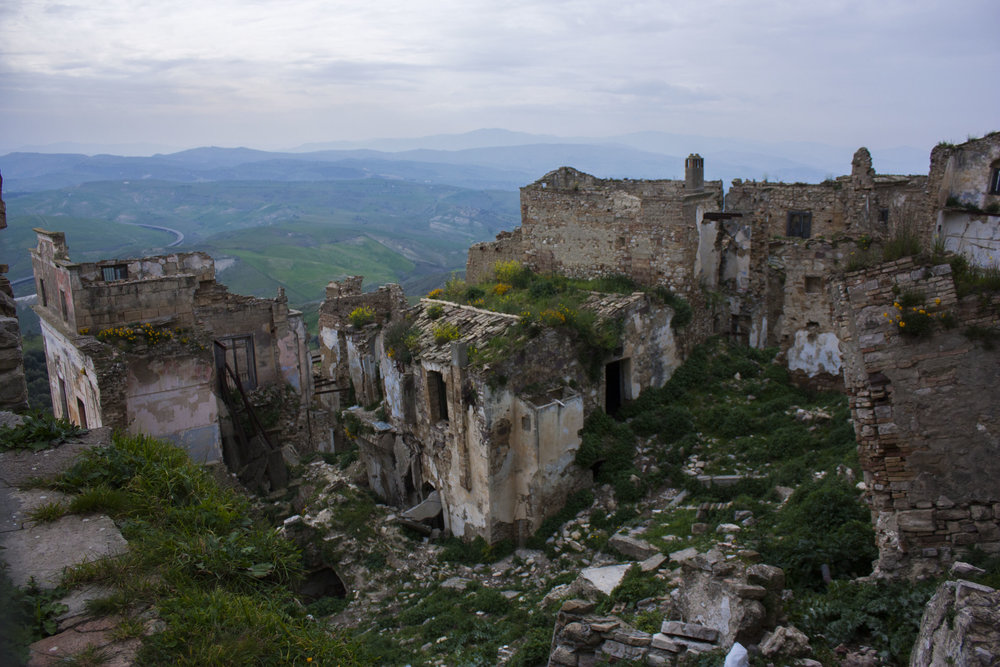 Johnny Abbate, Craco, Italy, 2015