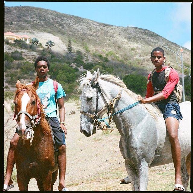 Bareback in St Kitts #hasselblad500cm #500cm #portra400 #mediumformat