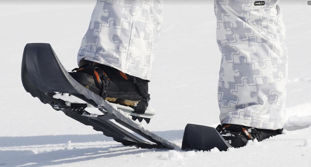 Snowshoe trekking, snowshoes
