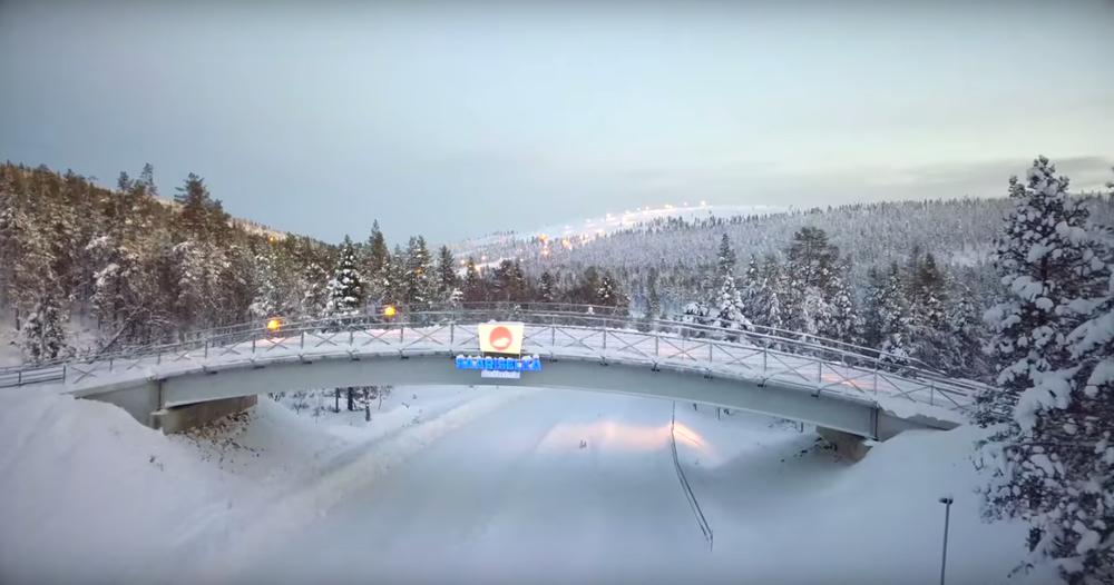 Saariselka, Ski center