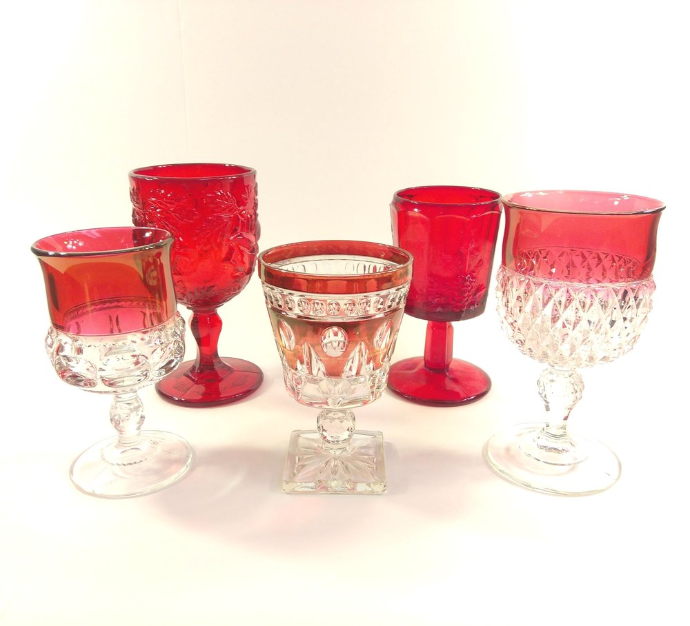 Red Goblets - Qty 82