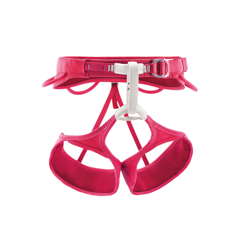 Petzl Selena - Women's This is a great all around harness than you can use for pretty much any style of climbing! Petzl is also known for having their products last for years if you take care of it.