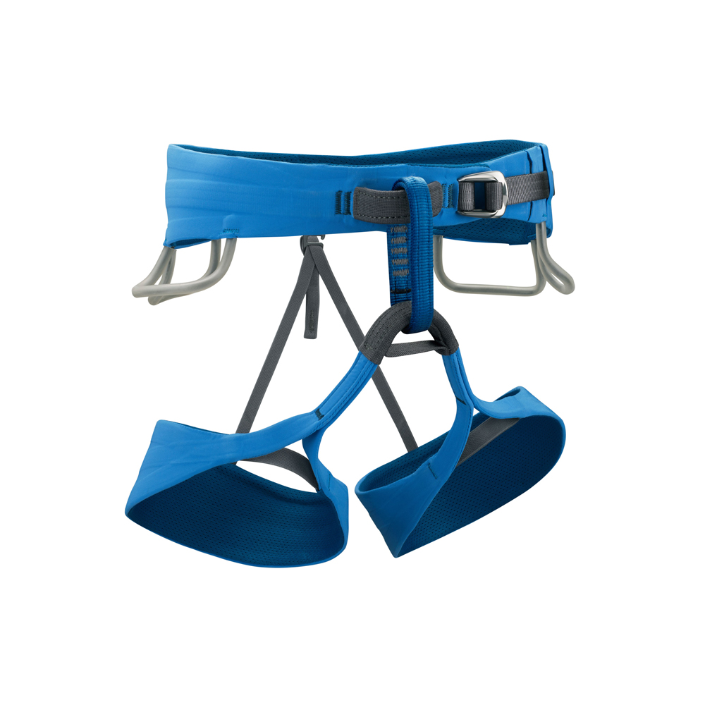 Black Diamond Solution   This is a dependable harness that will last you for years if you take good care of it. It isn't bottom of the line, and it's not top shelf either. The Black Diamond Solution is a good middle of the road investment that will be worth it in the end.